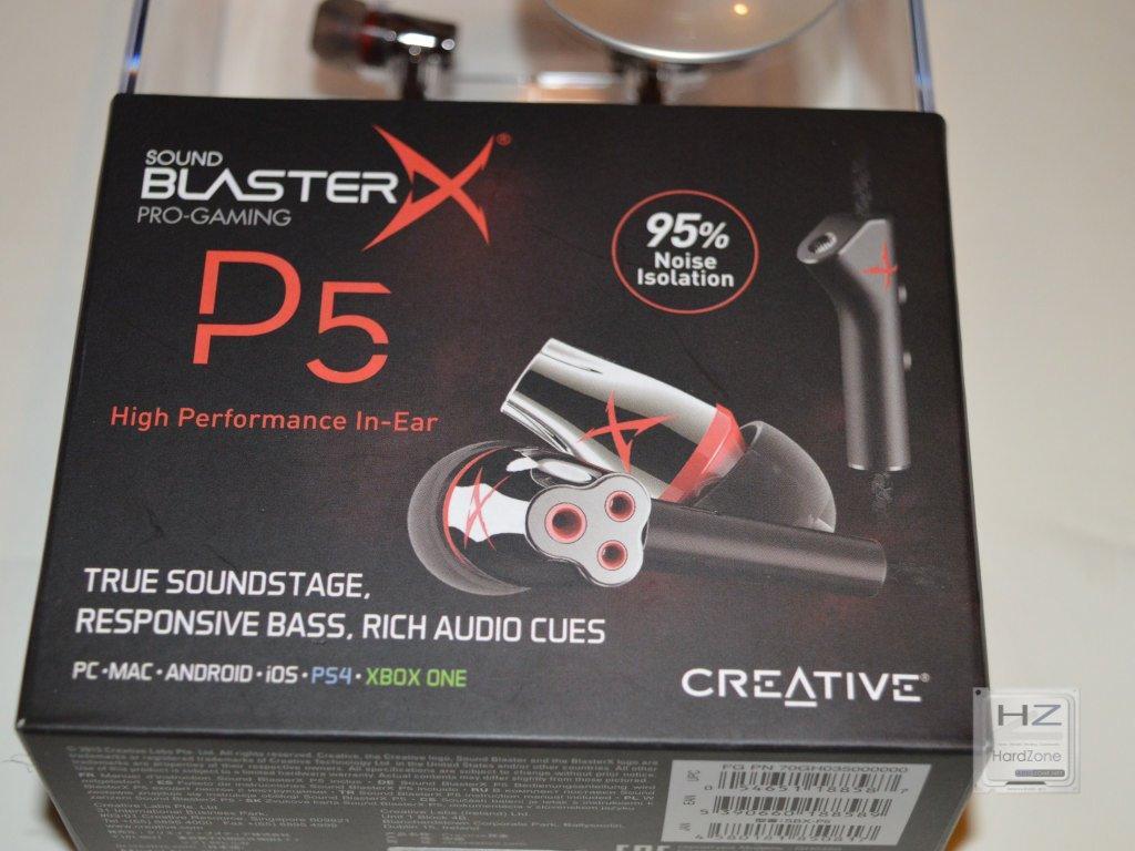Sound BlasterX P5 -002