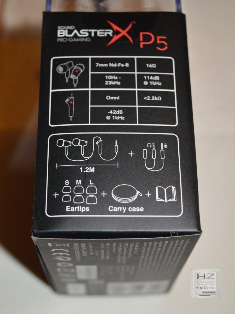 Sound BlasterX P5 -006