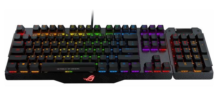 Ya disponible el Asus ROG Claymore, el teclado más caro del mercado