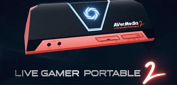 Graba tus partidas con la capturadora AverMedia Live Gamer Portable 2