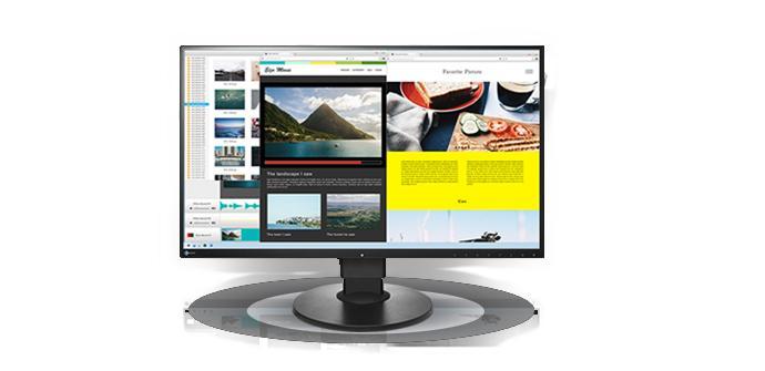 EIZO presenta su nuevo monitor de 27 pulgadas con conexión tipo C