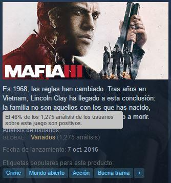 Mafia III Steam