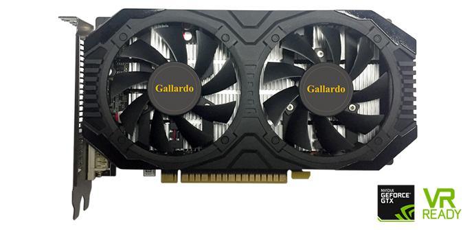 Manli anuncia el lanzamiento de sus gráficas Geforce GTX 1050 Gallardo