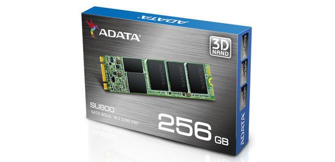 ADATA lanza su nuevo SSD en formato M.2 2280 SU800