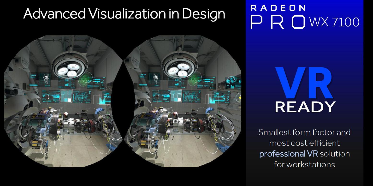 AMD Radeon PRO WX7100 VR
