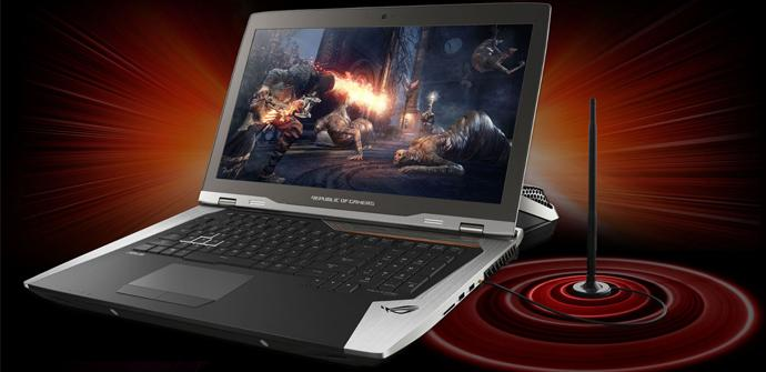 """Asus anuncia su """"portátil"""" ROG GX800 con refrigeración líquida"""