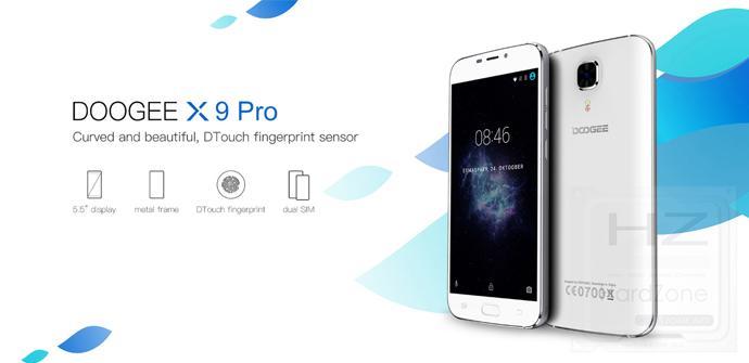 Doogee X9 Pro, el phablet más completo de la marca china