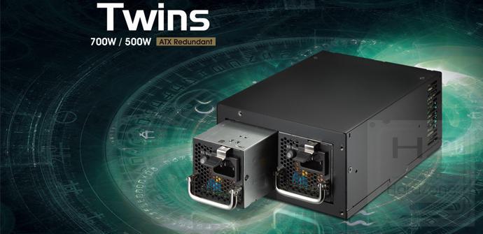 Ya disponible Twins, la fuente de alimentación ATX redundante de FSP