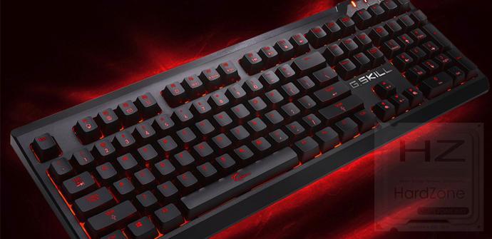 G.Skill ya ofrece teclados con interruptores Cherry MX Speed