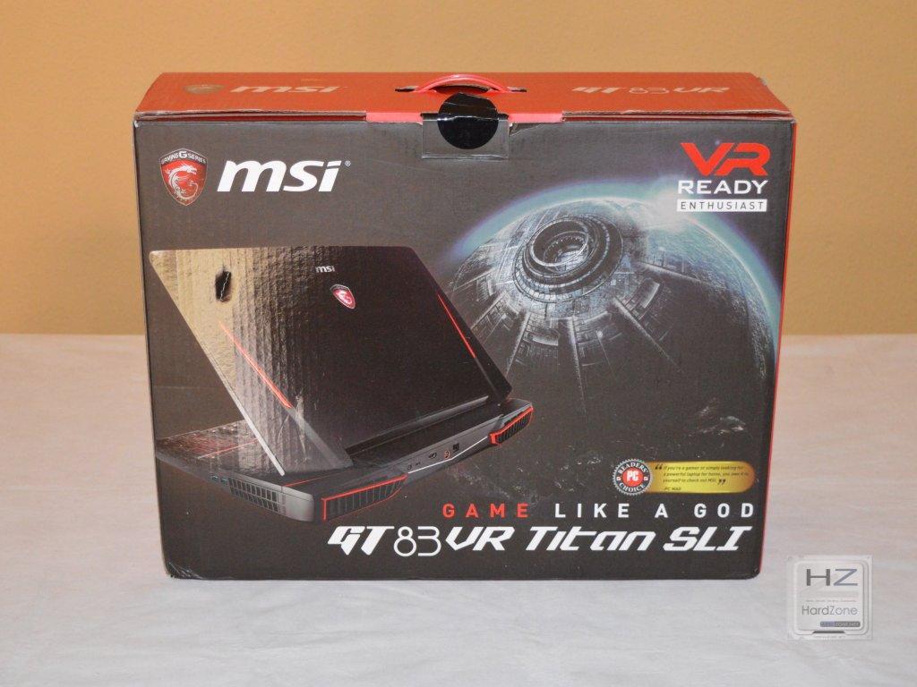 MSI GT83 -001