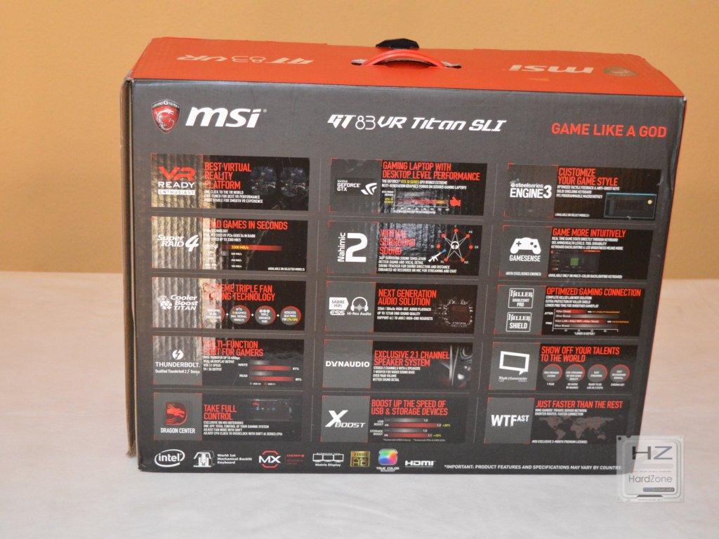 MSI GT83 -002