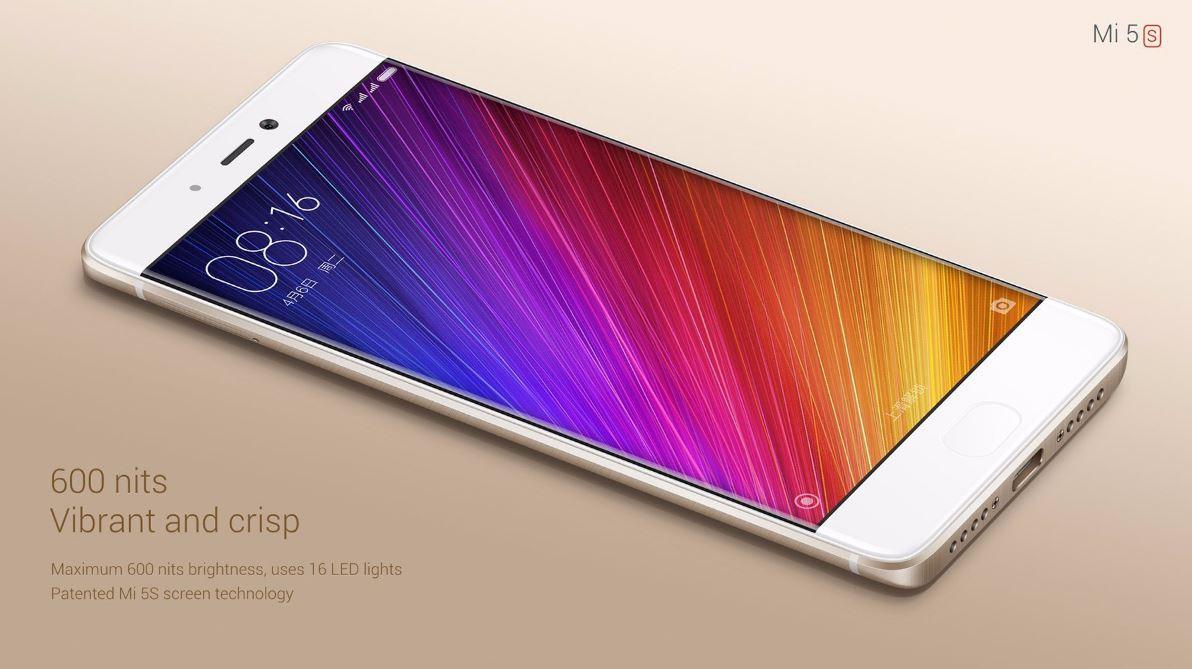 Mi5S pantalla