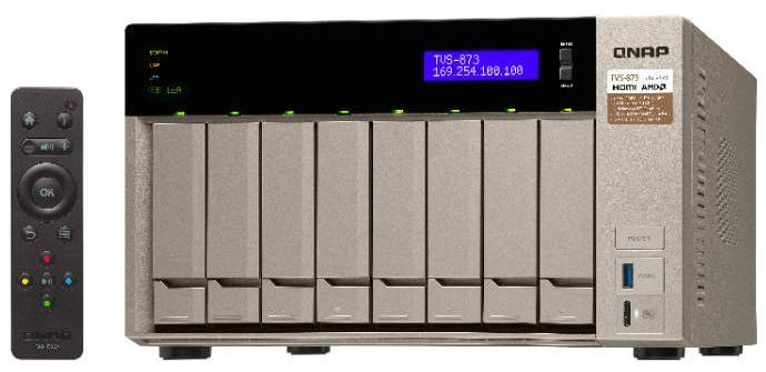 QNAP se alía con AMD para sacar su nuevo dispositivo NAS TVS-x73