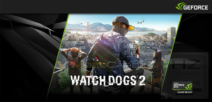 NVIDIA regalará Watch Dogs 2 con sus GeForce GTX 1080 y GTX 1070
