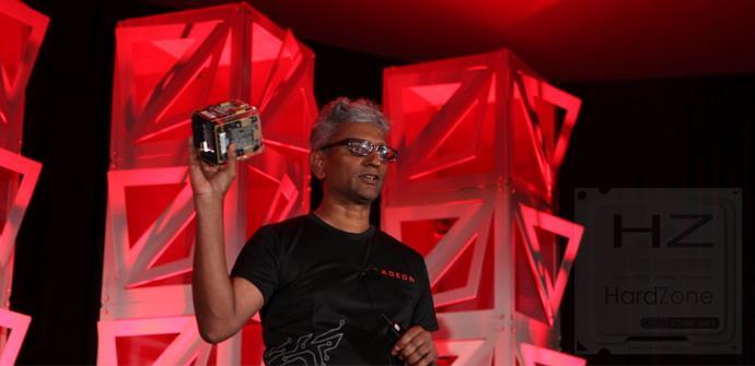 AMD Vega Cube: 100 TFLOP/s de potencia en el tamaño de una taza