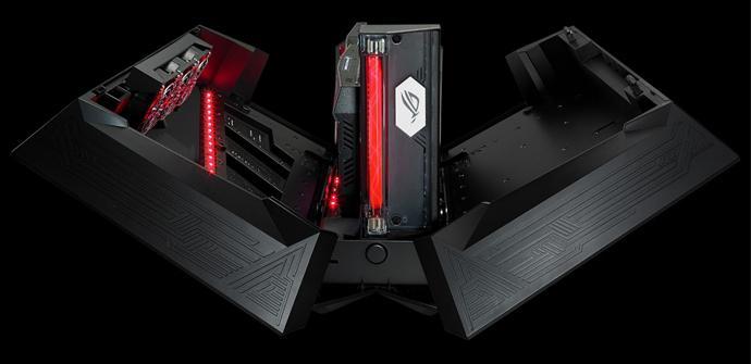 Asus anuncia su propia caja externa para tarjetas gráficas
