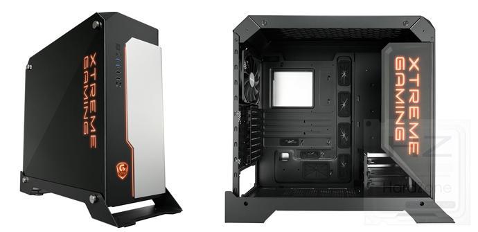 Gigabyte Xtreme Gaming XC700W, chásis metálico con LED
