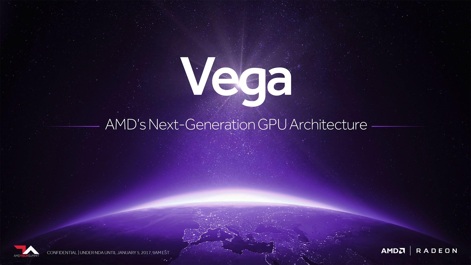 La Radeon Vega competiría en rendimiento con las Geforce GTX 1080 Ti