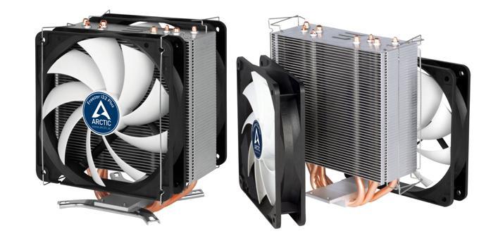 Arctic lanza su nuevo disipador Freezer i32 Plus con doble ventilador