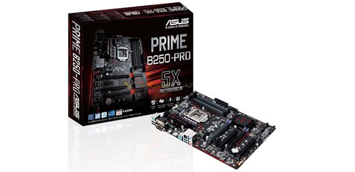 Estos son los primeros detalles de las placas Asus Prime B250 Pro y Plus