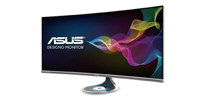 Asus ya tiene un monitor curvado de 37,5″ con carga inalámbrica Qi