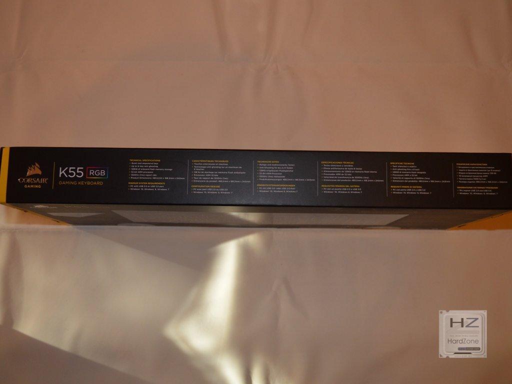 Corsair K55 RGB - HardZone