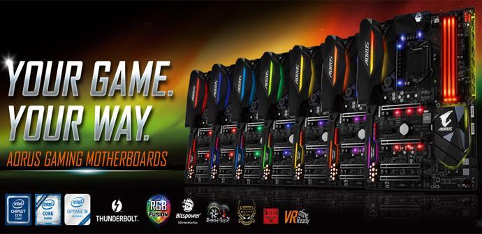 Gigabyte lanza sus nuevas placas de la línea Aorus Gaming en el CES