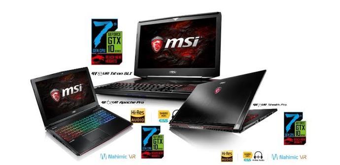 MSI resume las novedades para sus portátiles mostradas en el CES