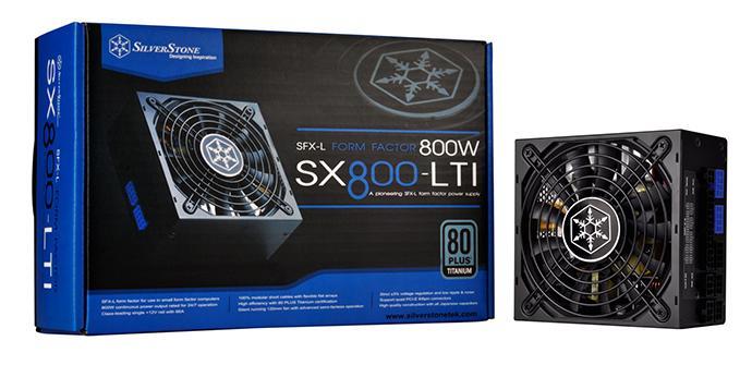 SilverStone presenta la primera fuente de 800 W para tamaño SFF