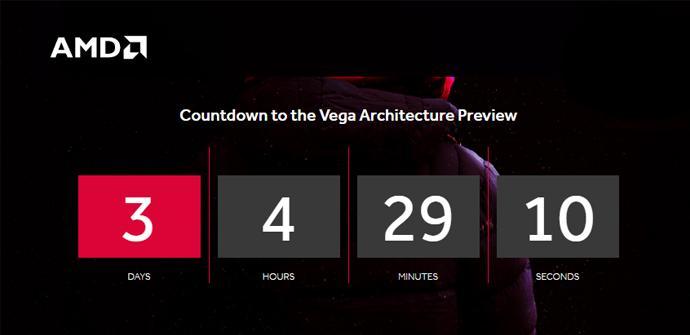 AMD comienza una cuenta atrás para la presentación de Vega