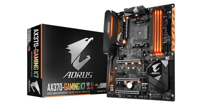 Gigabyte anuncia que su marca AORUS tendrá placas de socket AM4