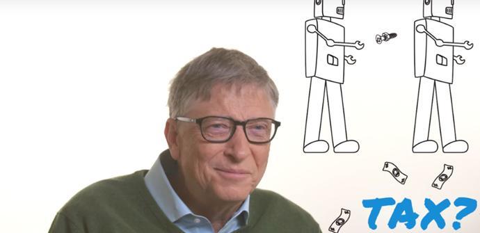 Bill Gates: Los robots que reemplacen a humanos en el trabajo deberían pagar impuestos