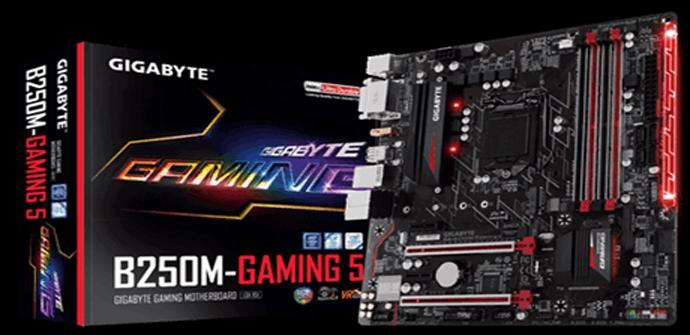 Gigabyte presenta su nueva placa base GA-B250M-Gaming 5