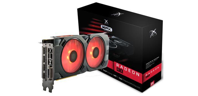 XFX añade la nueva Radeon RX 480 Crimson Edition a su catálogo