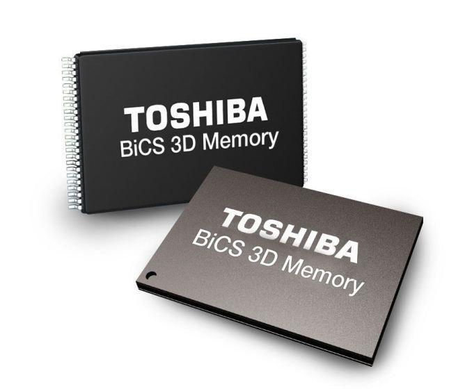 Toshiba BiCS NAND chips