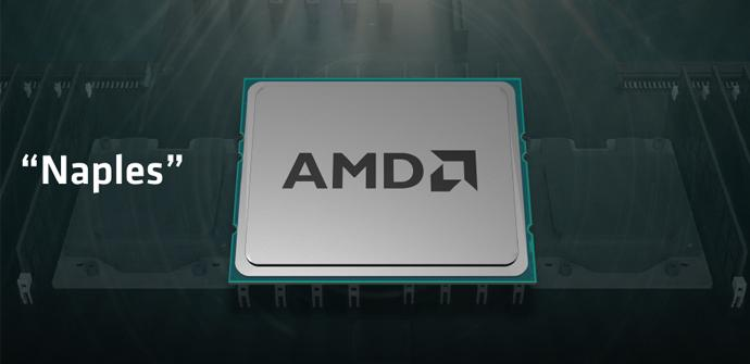 AMD presenta Naples, un monstruoso procesador Zen de 32 núcleos