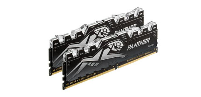 Apacer anuncia su nuevos módulos de memoria RAM Panther Rage DDR4