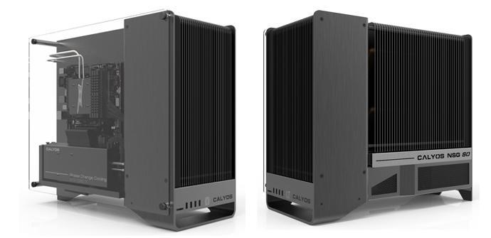Calyos NSG S0, una caja totalmente personalizable y sin ventiladores