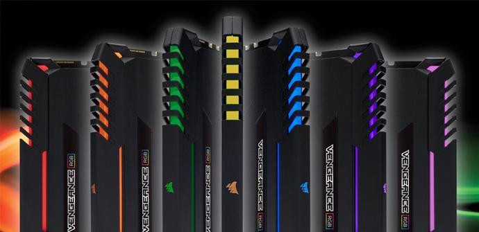 Ya están aquí las nuevas memorias Corsair Vengeance RGB DDR4