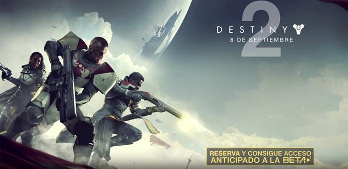¡Confirmado! Destiny 2 llegará a PC, Xbox One y PS4 el 8 de Septiembre