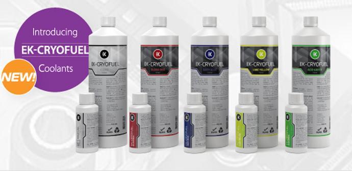 EK Water Blocks presenta su nuevo líquido refrigerante EK-CryoFuel