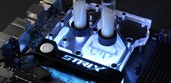 EK WB lanza un nuevo bloque completo para las placas Asus Z270E Strix