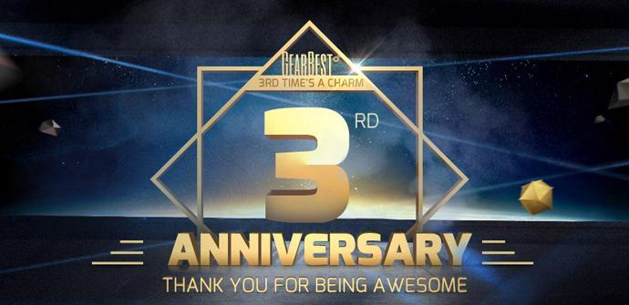 Comienza el tercer aniversario de GearBest con suculentas promociones