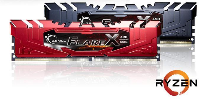 Las nuevas G.Skill Flare X de 4 módulos te permitirán maximizar la memoria