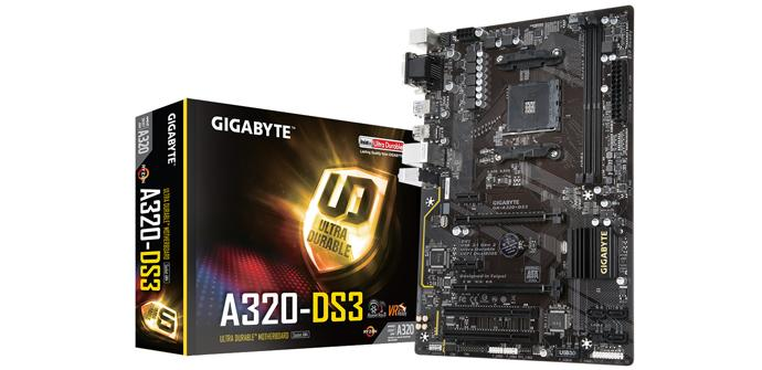 Gigabyte presenta sus primeras placas base con chipset A320 para AM4