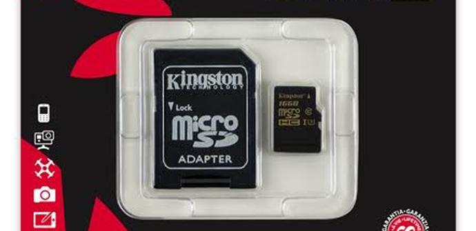 Kingston Digital lanza su tarjeta de memoria más rápida para grabar a 4k