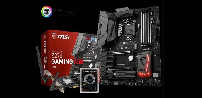 La MSI Z270 Gaming M6 AC trae de regalo tiras LED de Phanteks