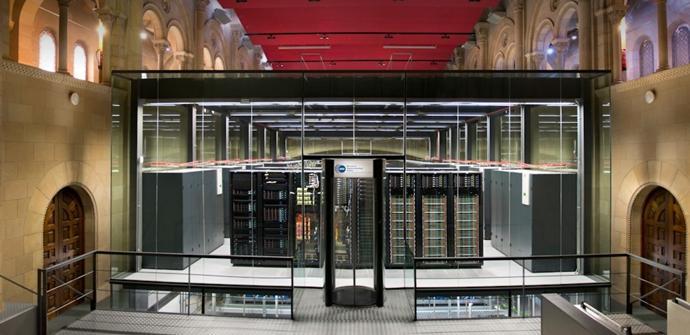 MareNostum: Un super ordenador construido en una capilla histórica