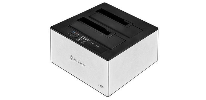 Silverstone ya tiene un docking de clonado de discos con USB 3.1 Type-C