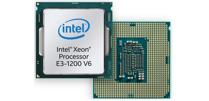 Intel anuncia los nuevos Xeon E3-1200 v6 de arquitectura Kaby Lake